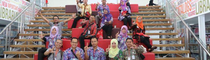 Studi Banding Tim Perpustakaan di Universitas Telkom Bandung, UIN Bandung, dan UPI Bandung, 2018
