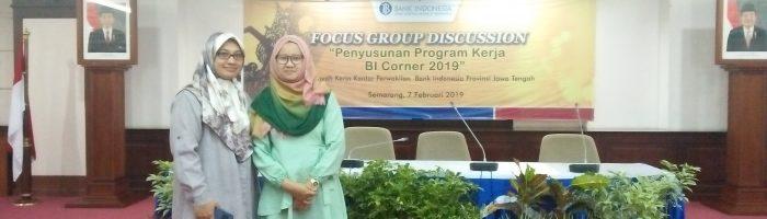FGD Penyusunan Program Kerja BI Corner Tahun 2019, Semarang, 7 Februari 2019
