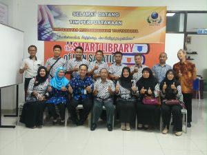 Kunjungan Tim Perpustakaan UMY
