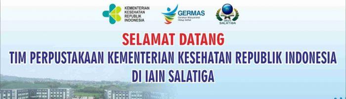 Studi Banding Tim Perpustakaan Kementerian Kesehatan Republik Indonesia di IAIN Salatiga, 22 Maret 2019