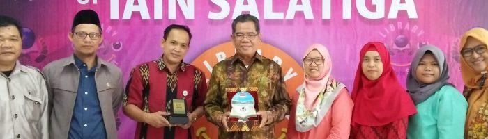 Studi Banding Tim Perpustakaan IAIN Metro Lampung di Perpustakaan IAIN Salatiga, 22-24 April 2019
